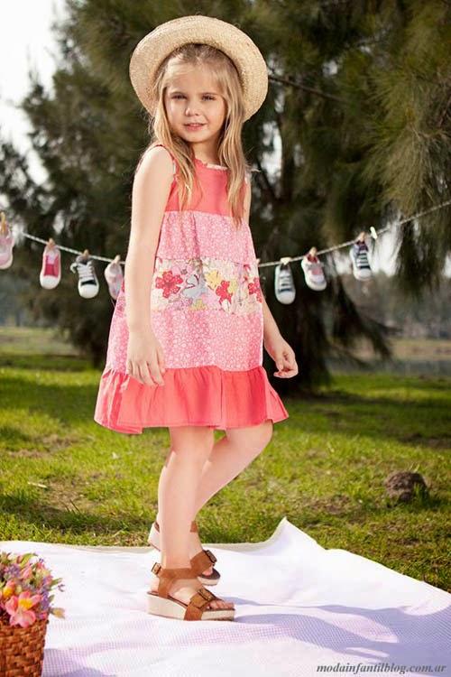 moda infantil 2014 sandalias niñas