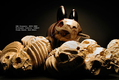 "Skin Deep Custom Resin Figures by Scott Wilkowski - Frank Kozik's ""Labbit"""
