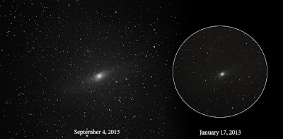 Andromeda image processing