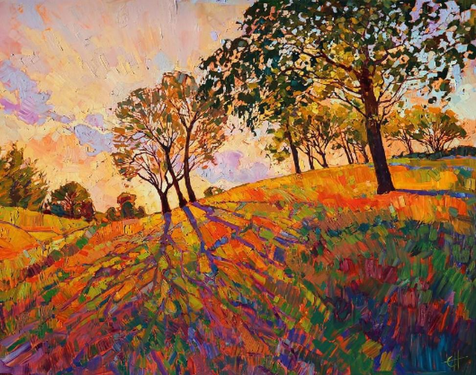 Cuadros modernos pinturas y dibujos cuadros en imagenes de paisajes pintados con espatula - Imagenes para cuadros ...