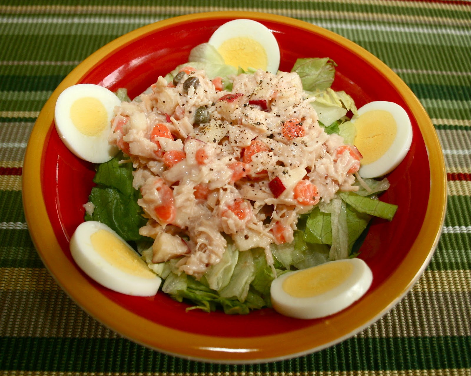 Points In My Life: Low-Point Healthy Chicken Salad