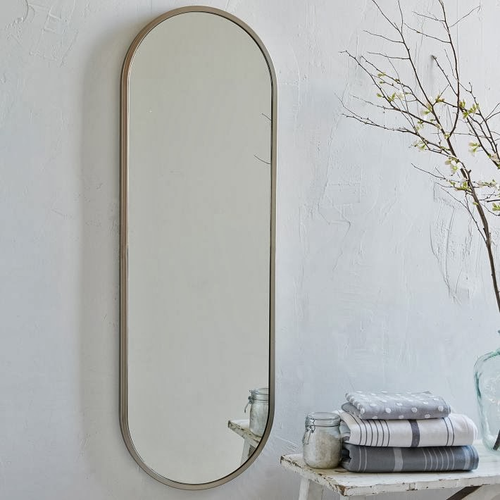 West Elm Wall Mirror to da loos: west elm has jumped on the round mirror band wagon!