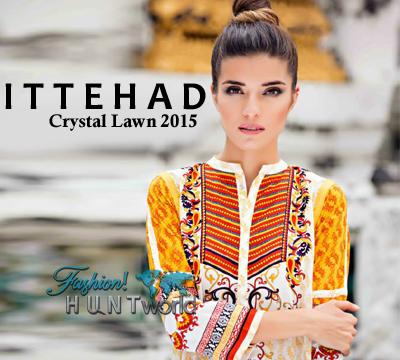 Ittehad Crystal Lawn 2015