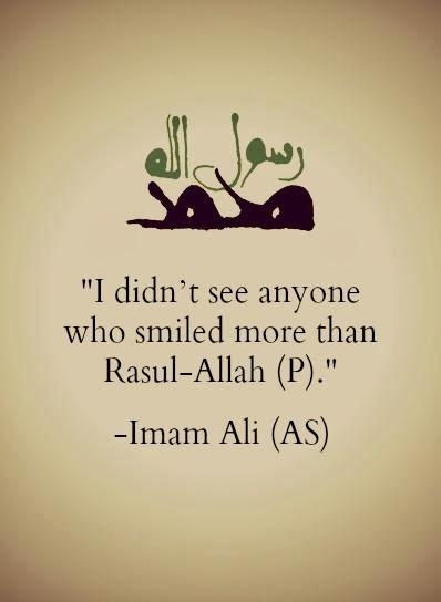 Quotes On Imam Ali Prophet Muhammad