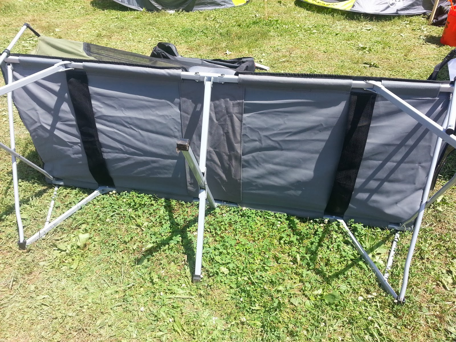 Family Tent C&ing & Family Tent Camping : Jet Tent Bunker XL Tent Cot by OzTent