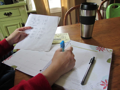 2013-2014 Well-Planned Day Planner Review-The Unlikely Homeschool