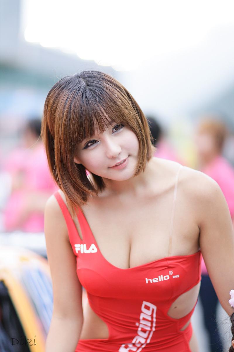 Ryu Ji Hye hot gif