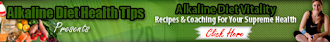 Alkaline diet tips