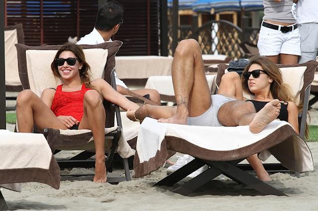 Belen Rodriguez – Bikini Candids in Forte Dei Marmi