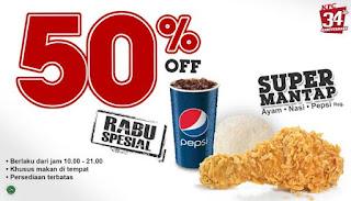 Daftar Harga Menu Promo KFC Terbaru Paket Jagonya Ayam dan Super Mantap