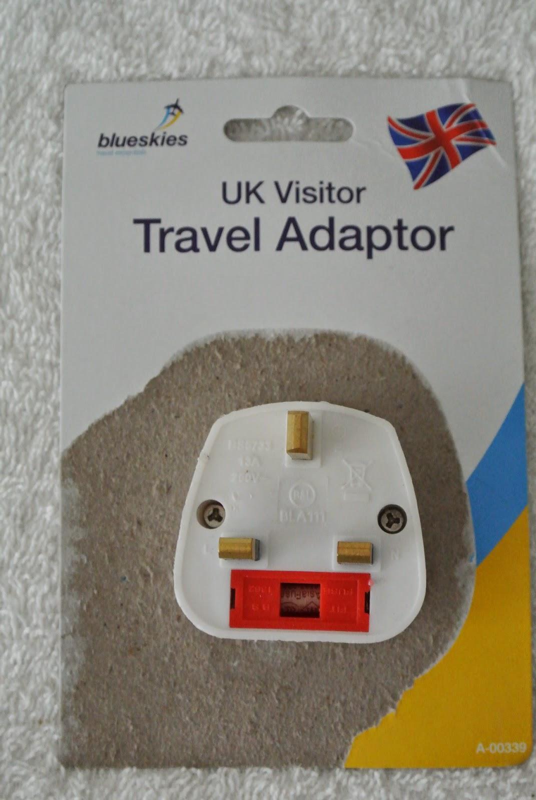uk plug adaptor