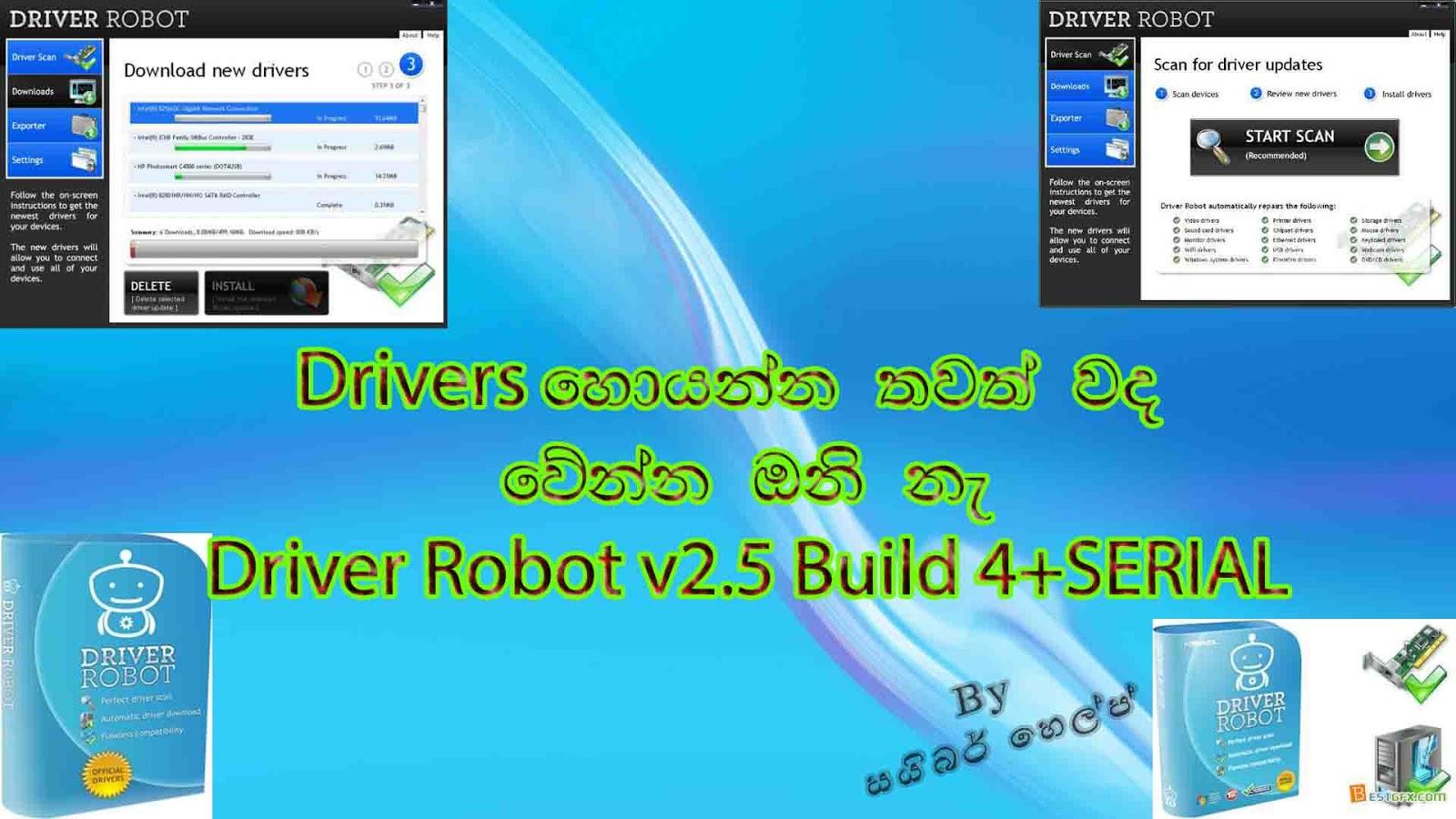 download driver robot full crack