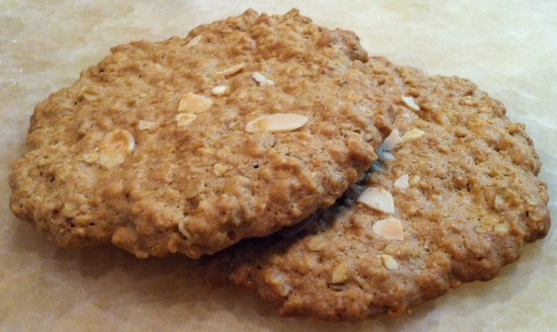 giant oatmeal almond cookies pies and tarts apple almond pie apple ...