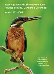 """LIVRO - (AVES AQUÁTICAS DO SÍTIO NATURA 2000 """"DUNAS DE MIRA, GÂNDARA E GAFANHAS"""". ANOS 2002-2006)."""