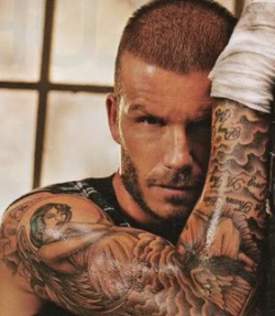 David Beckham Forearm Tattoo ~ info