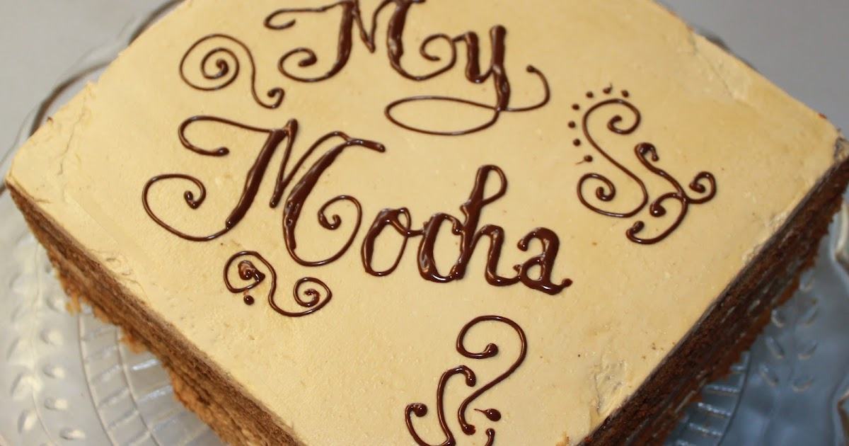 LV's Little Corner: Mocha Cake LV's style LOL