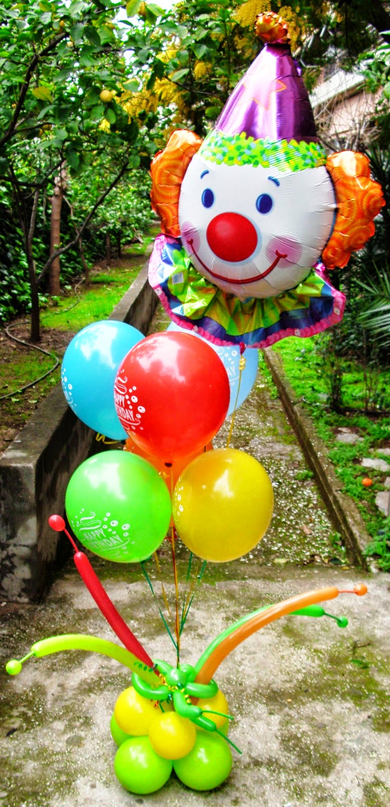 ΜΠΑΛΟΝΙΑ HAPPY BIRTHDAY