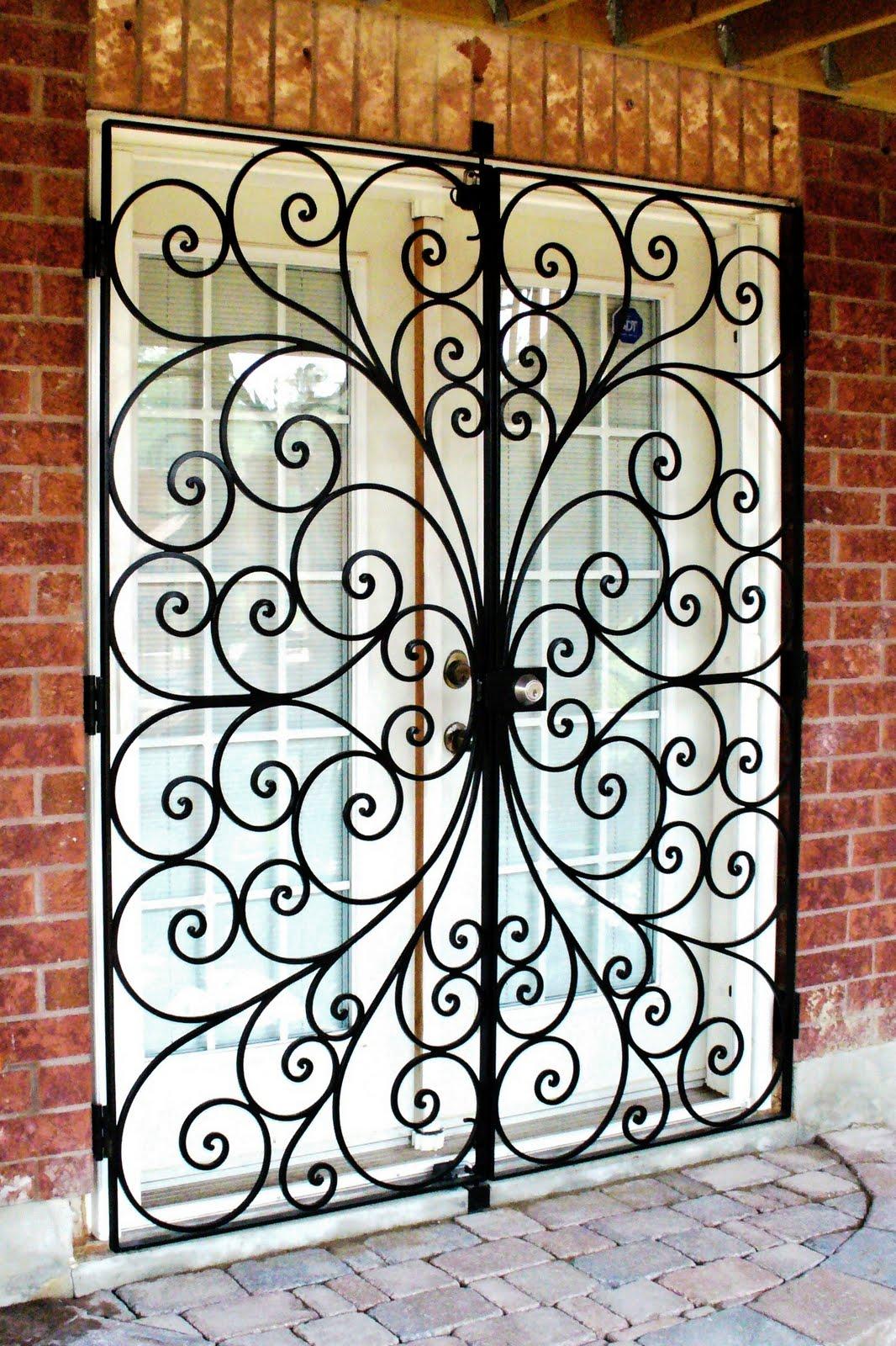 Wrought iron from julian security doors