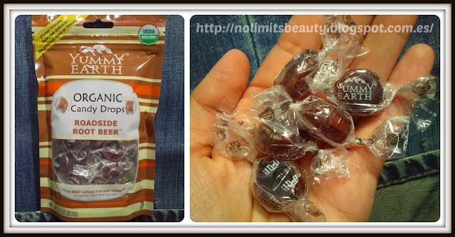 iHerb - Yummy Earth, Organic Candy Drops, Roadside Root Beer, 3.3 oz (93.5 g)