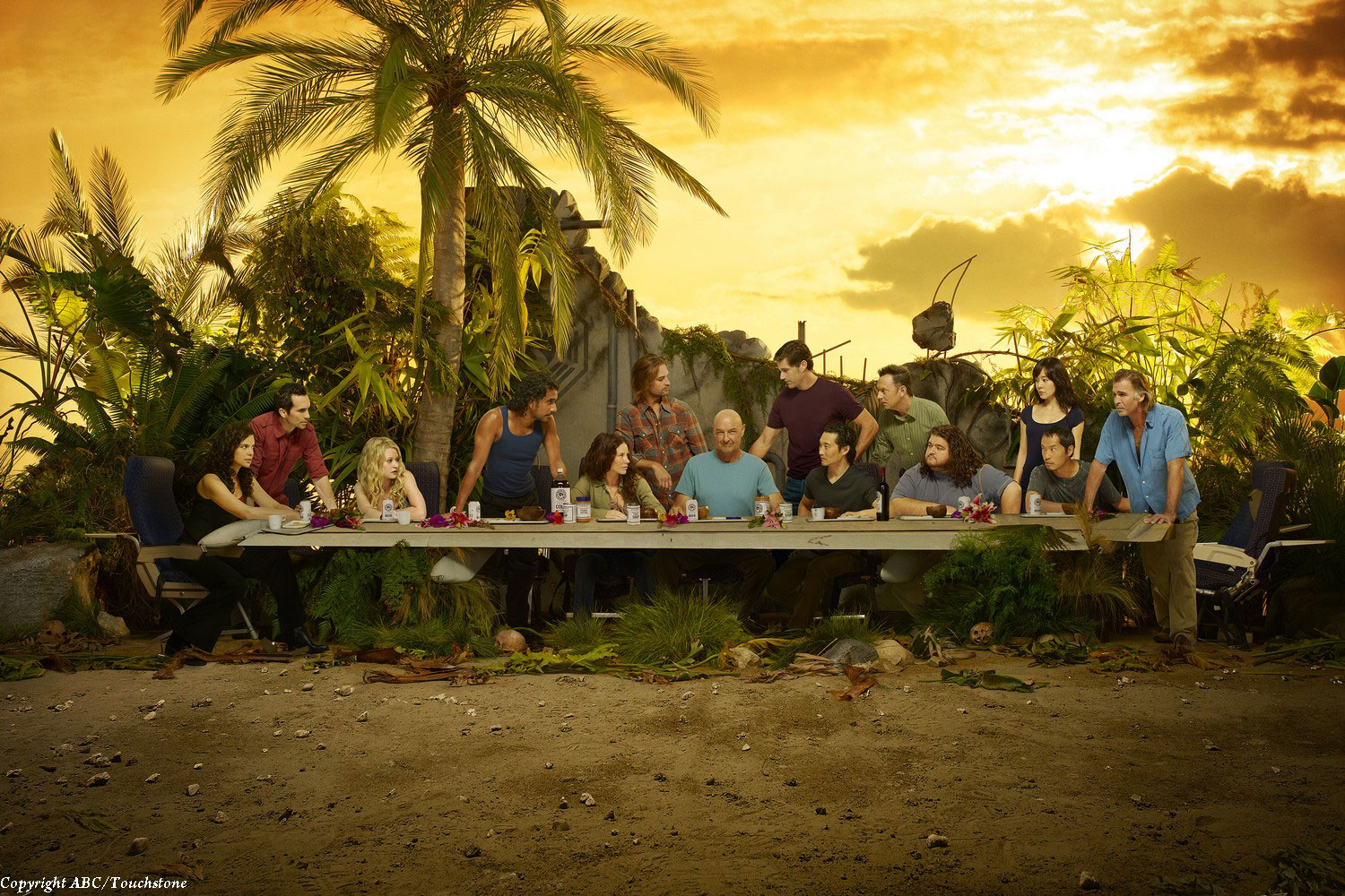 Lost Season 6 Last Supper