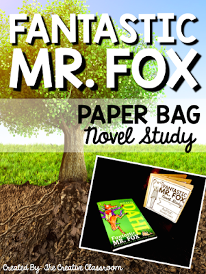 Fantastic Mr. Fox Paper Bag Novel Study