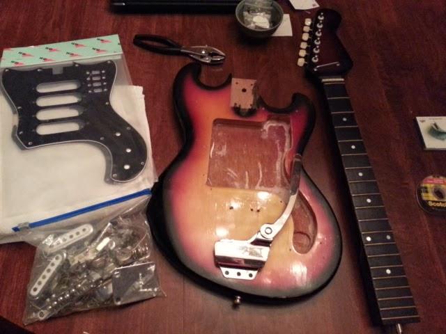 teisco restored visually at least alphabet city rh alphabetcityblog com Guitar Pick Up Wiring Schematics 2 Pickup Guitar Wiring