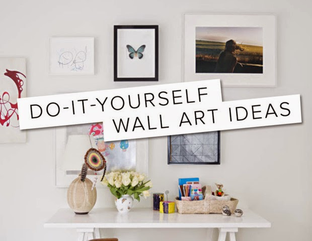 Susan hawke do it yourself wall art ideas for Do it yourself wall decor