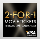 BOGO Fandango Movie Tickets! (Today ONLY for Visa Members)