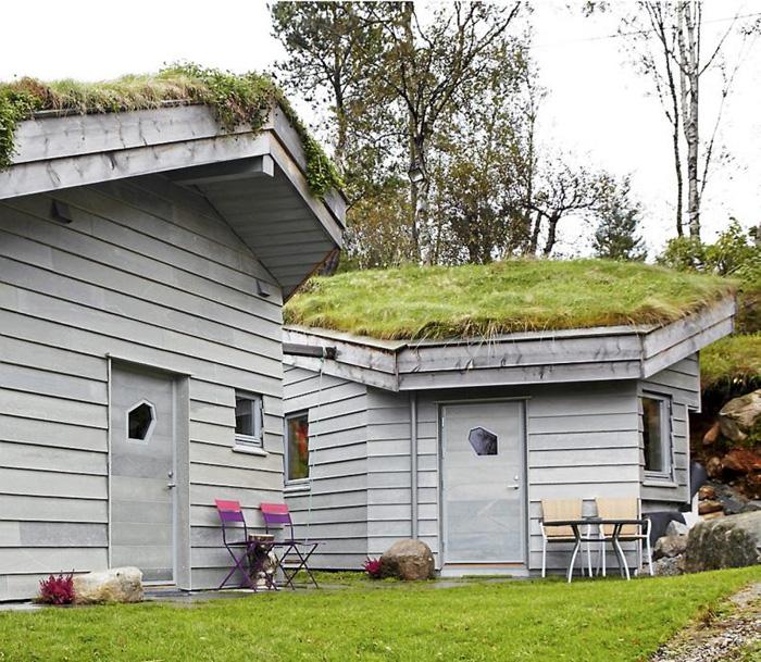 Estilo rustico casa con techos rusticos de pasto - Techos rusticos ...