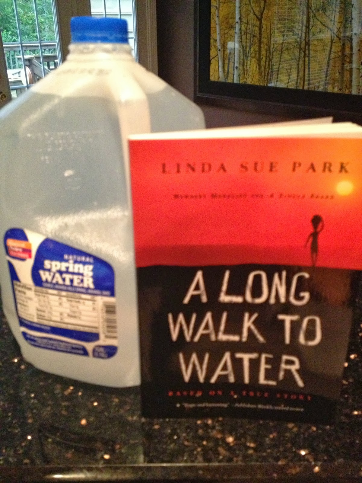 It s thirstday a long walk to water giveaway winners announced