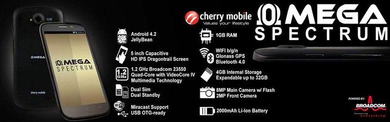 cherry mobile spectrum