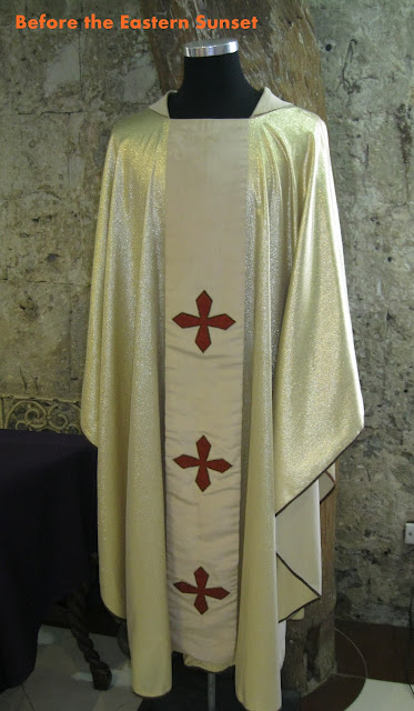 Cebu Cathedral Museum - Blessed Pope John Paul II's garments