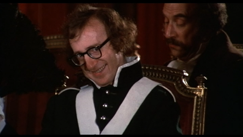 Woody Allen's hilariously funny face in Love and Death