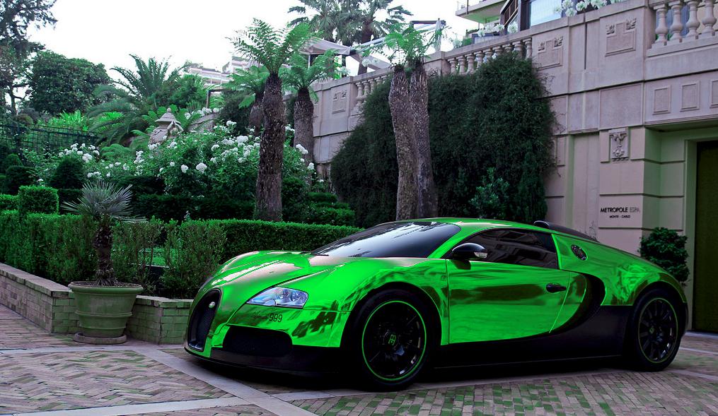 中華車庫 - CHINA GARAGE: We Just Love Cars!: Green Bugatti Veyron