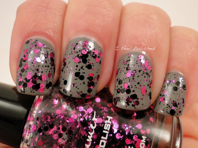 KBShimmer A Dot Mess Polish
