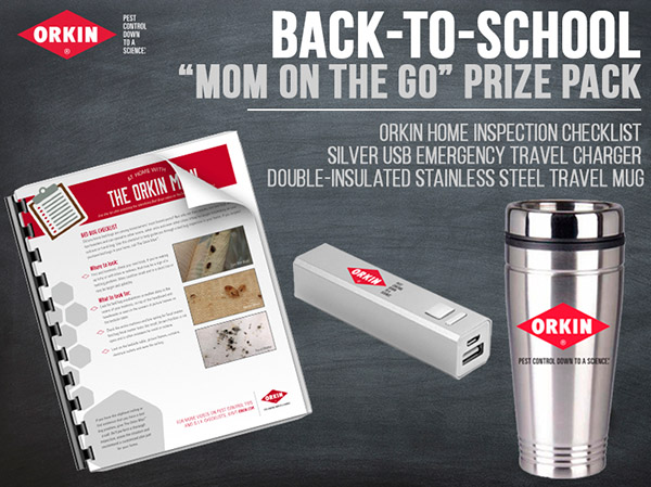 Class is in! #LearnwithOrkin Household Pests 101 + Win a Prize Pack