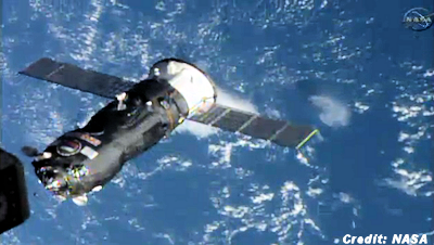 Progress 57 Cargo Craft Arrives at ISS 10-29-14