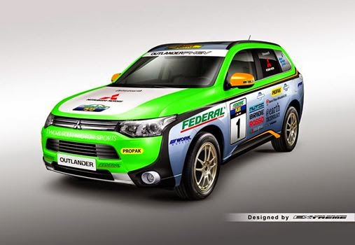 Outlander PHEV To Tackle Asia Cross Country Rally Electric - Mitsubishi technical support