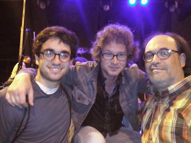 Amb l'Olivier Durand i el meu fill Edgar