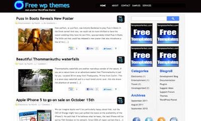 NeonLight Blogger Template
