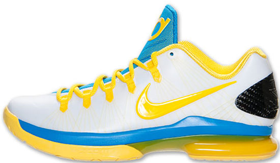ajordanxi\u0026#39;s Sneaker World: Nike KD V Elite \u0026quot;Playoffs Home\u0026quot; White/Tour Yellow-Photo Blue Release Reminder