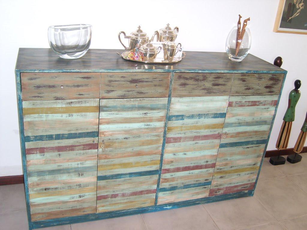 muebles reciclados para
