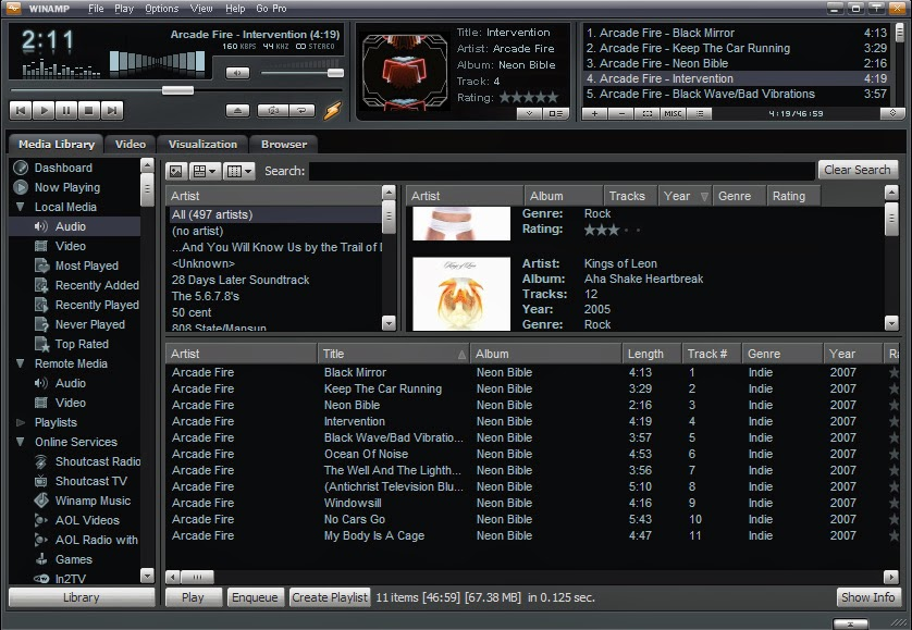 Winamp march 2017 beta released new