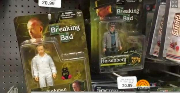 Toys 'R' Us, Breaking Bad crystal meth, Breaking Bad toys, Heisenber