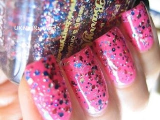 Barry M Jubilee Glitter over Illamasqua Collide