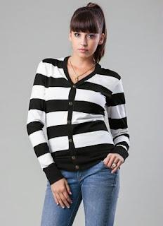 Moda preto e branco-Blazers
