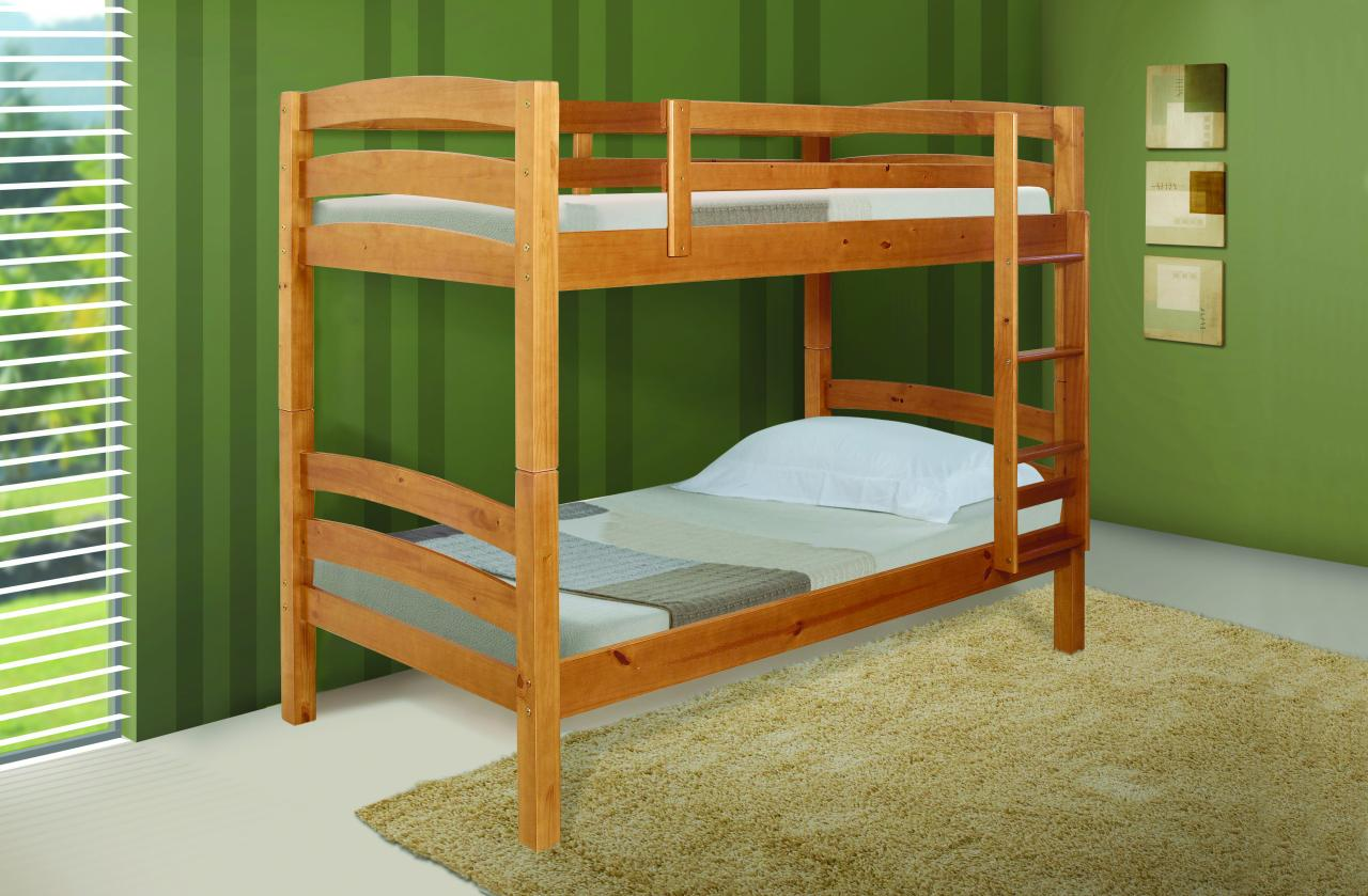 beds visco therapy wooden adult bunk beds double deck bed bedroom ...