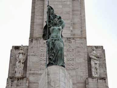 Monumento a la Bandera en la Cdad. de Rosario