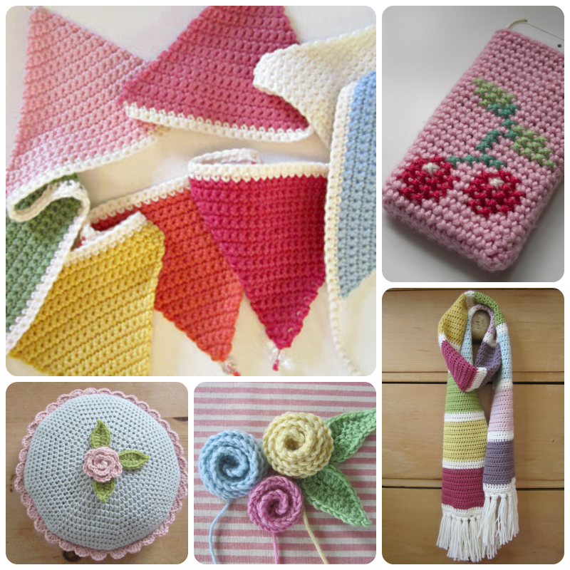 Free Crochet Patterns & Tutorials