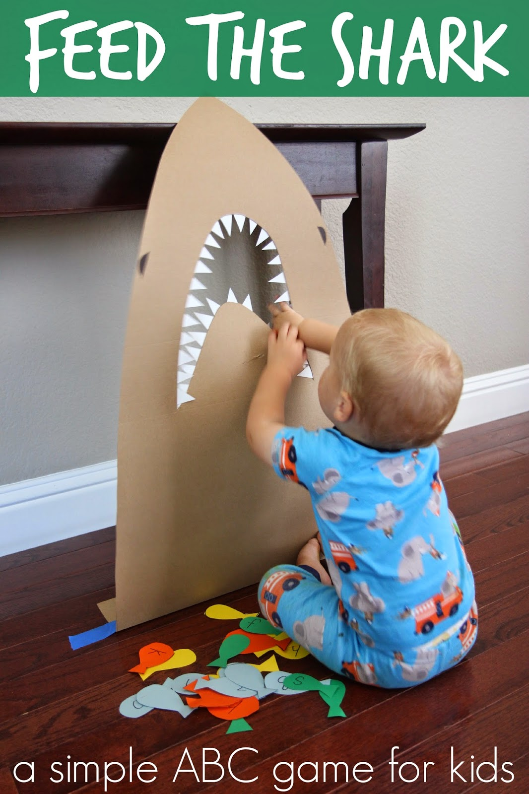 Feed Shark Alphabet Game For Kids on A Day In First Grade Teaching With Themes Best
